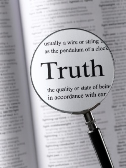 Truth meter