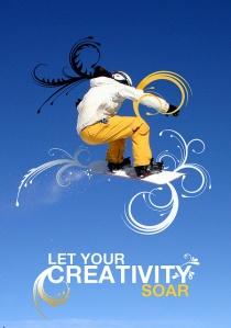 Let your creativity soar